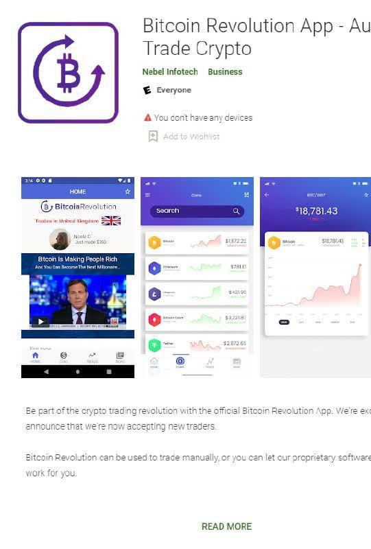 Bitcoin Revolution App On Google Play