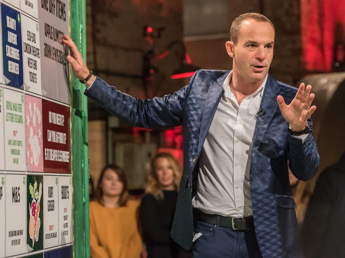 Martin Lewis, hosting his own TV Show