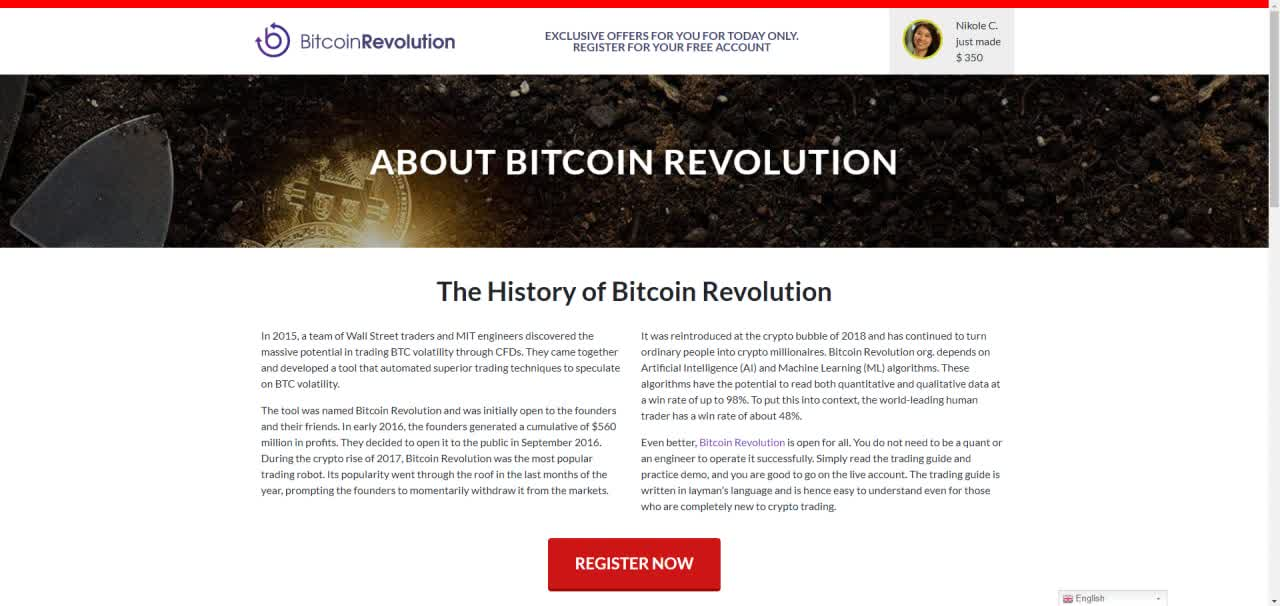 A Brief History behind the project
