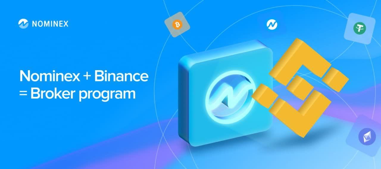 Nominex and Binance partnership