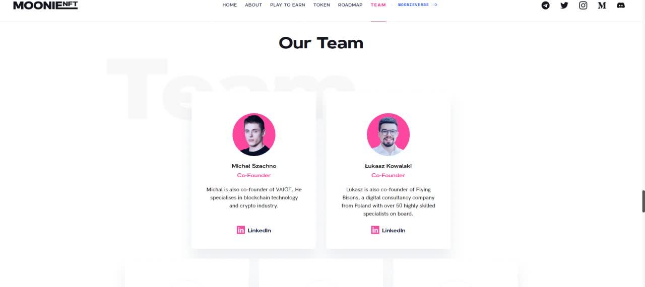 MoonieNFT MoonieNFT Co-Founders